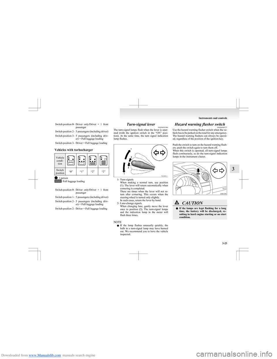 MITSUBISHI COLT 2009 10.G Owners Manual