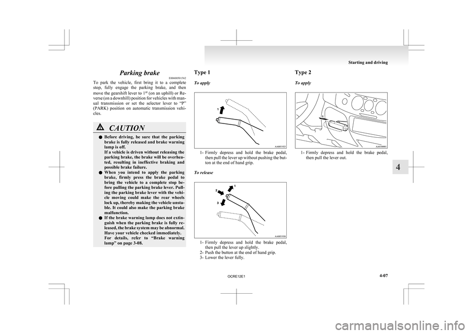 MITSUBISHI L200 2010 4.G Owners Manual