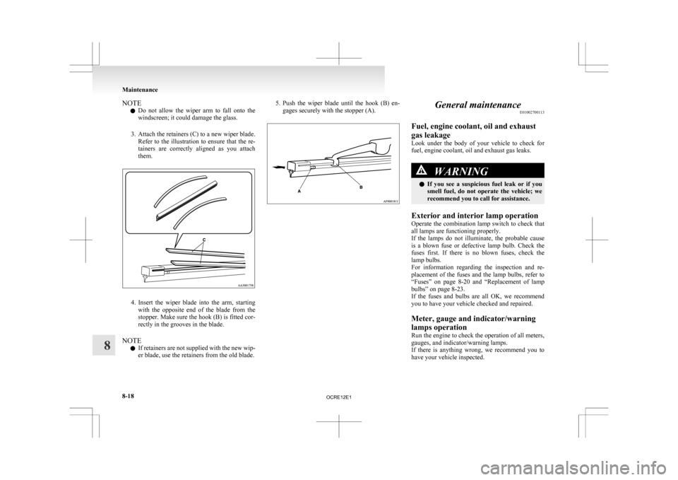 MITSUBISHI L200 2010 4.G Owners Manual (369 Pages), Page