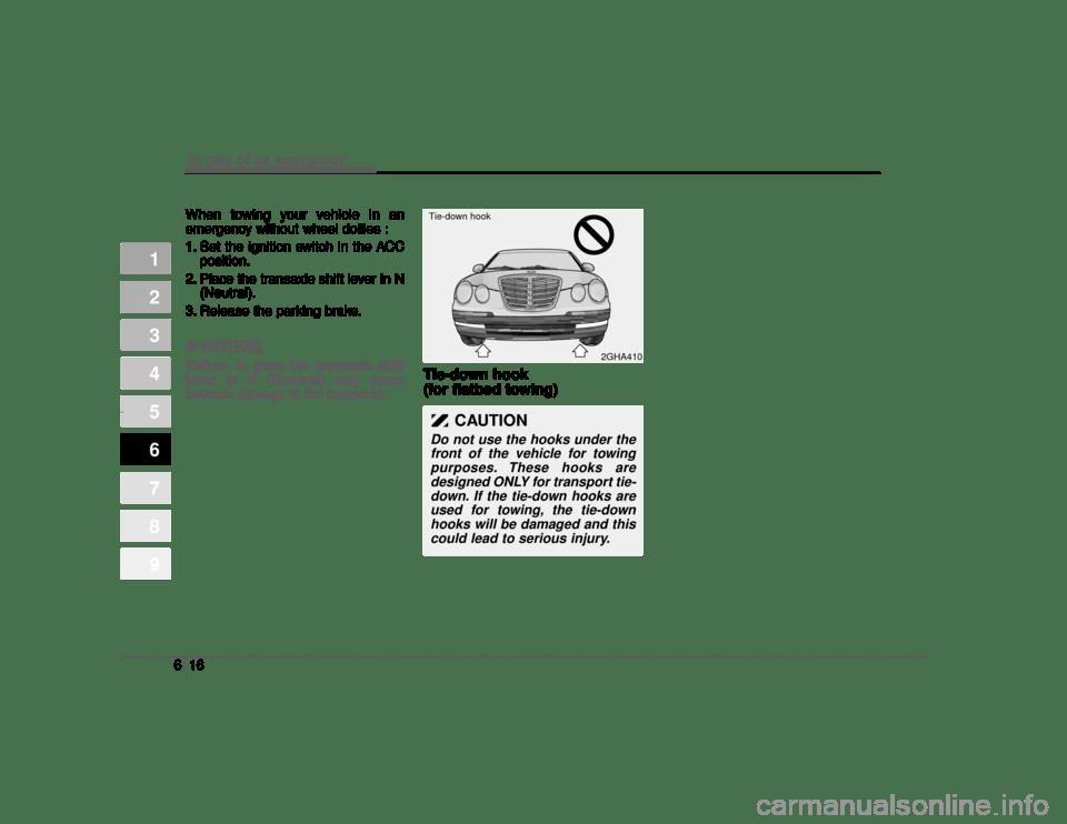 KIA Amanti 2004 1.G Owner's Manual