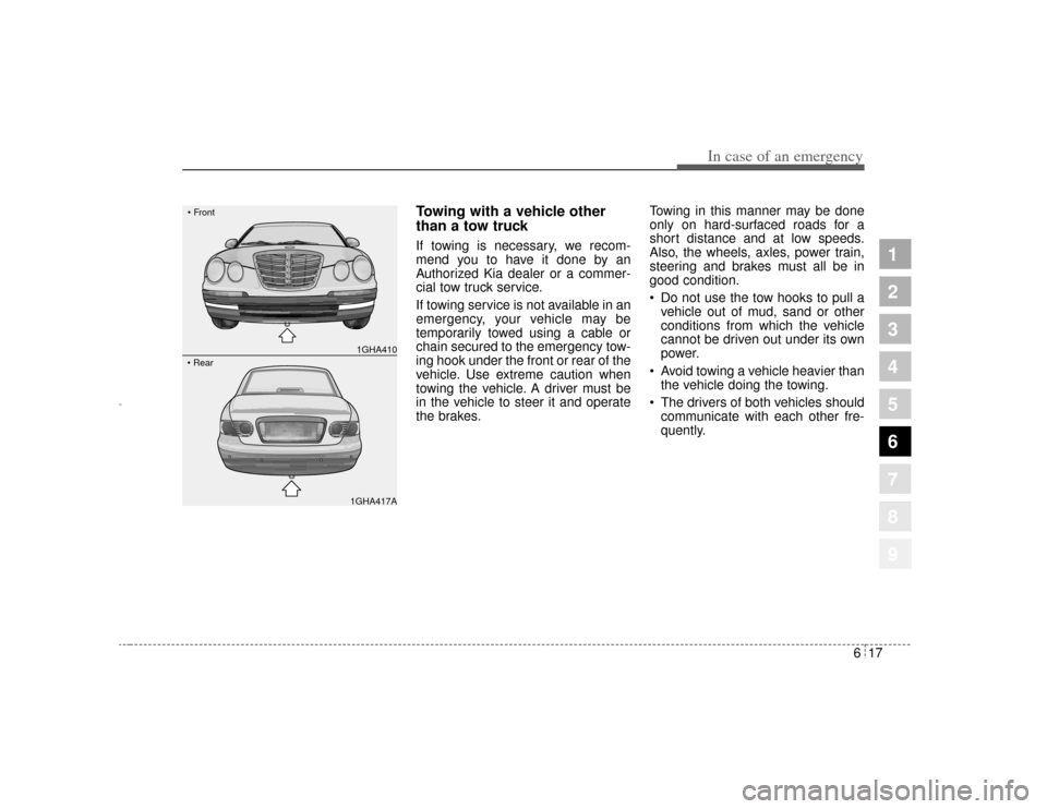 KIA Opirus 2004 1.G Owner's Manual