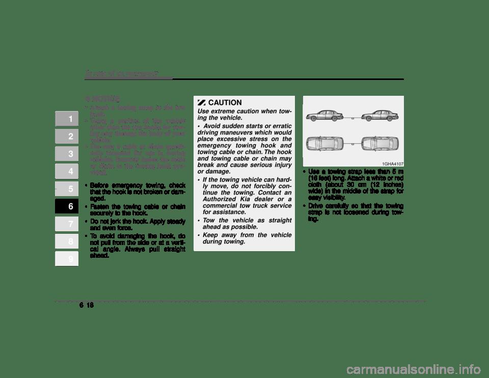 KIA Opirus 2004 1.G Owner's Manual