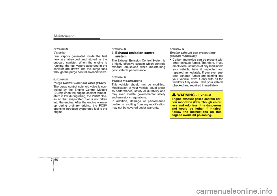 SOLENOID KIA Carens 2008 2.G Owner's Manual (341 Pages)