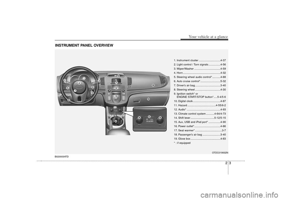 KIA Cerato 2010 1.G User Guide (321 Pages)