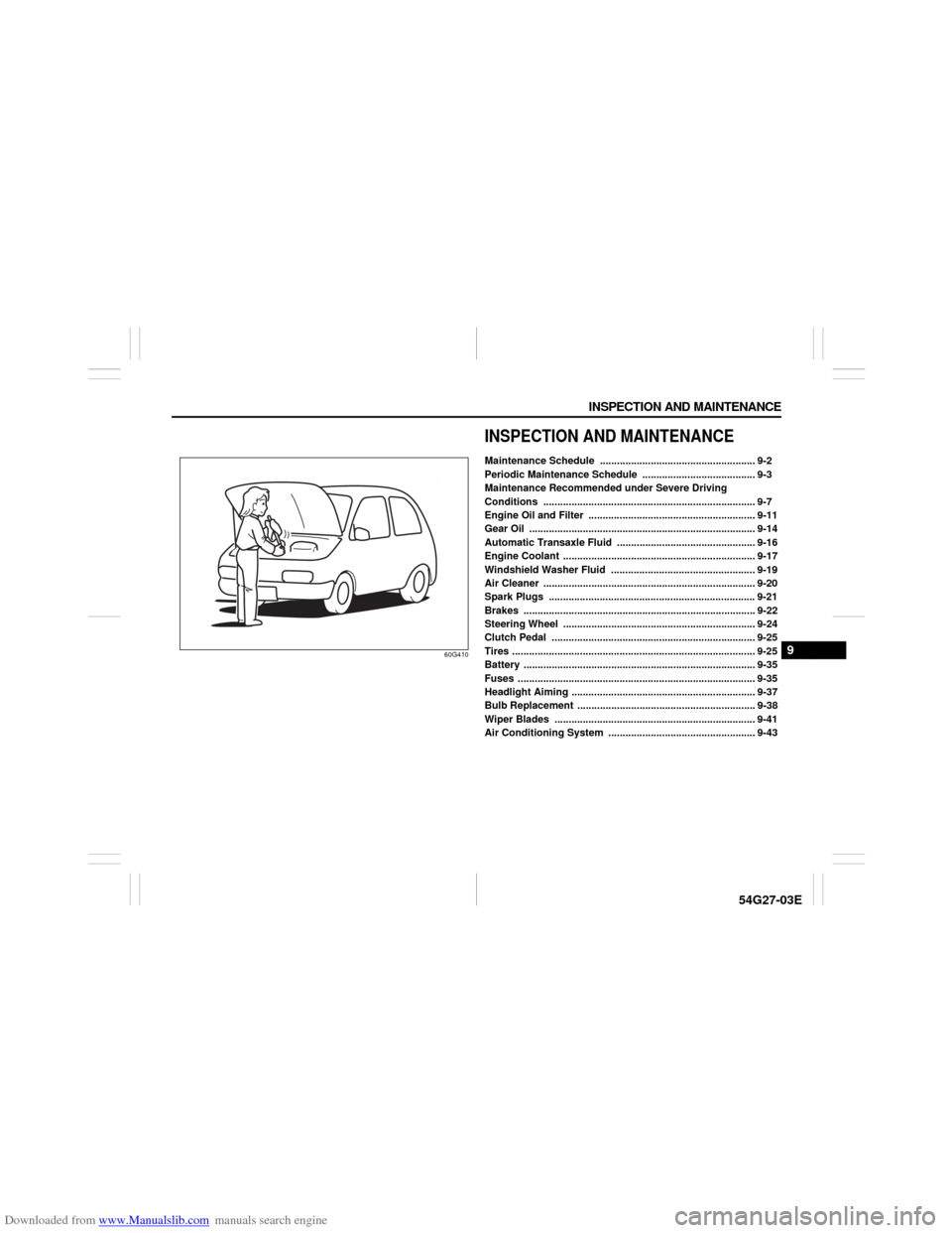 SUZUKI AERIO 2007 1.G Owners Manual (232 Pages), Page 160