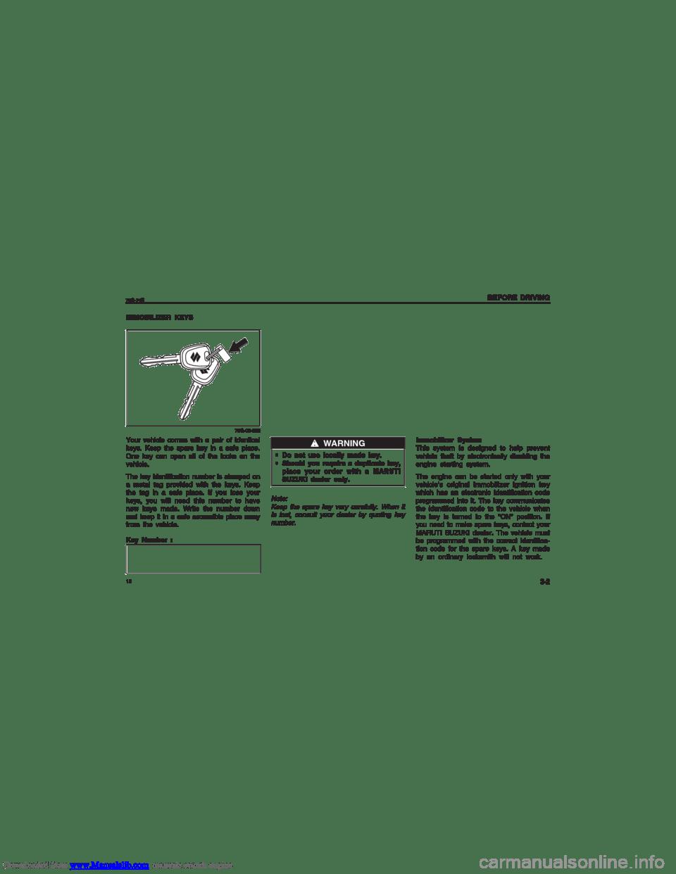 SUZUKI ALTO 2007 6.G User Guide (139 Pages)