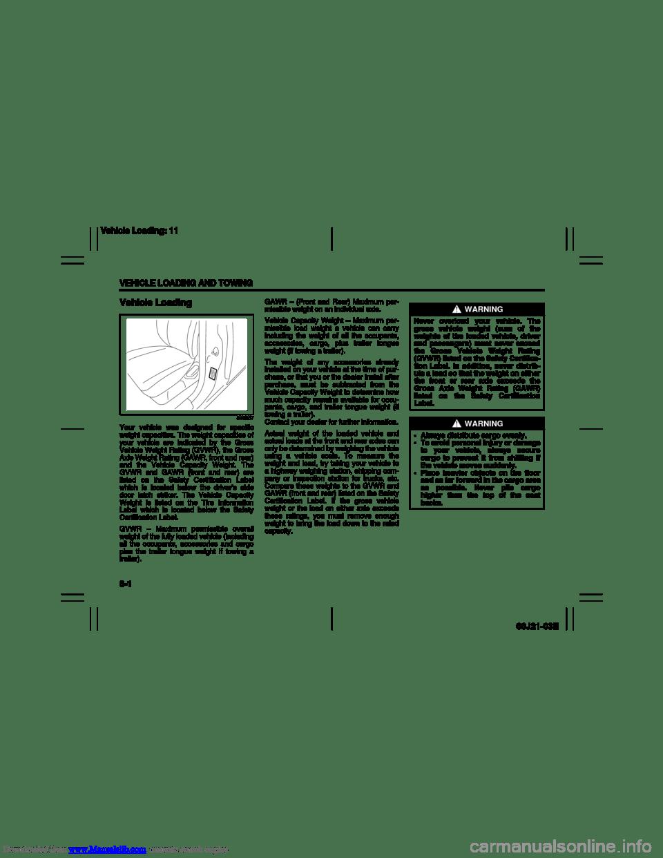 SUZUKI GRAND VITARA 2007 3.G Owners Manual (211 Pages