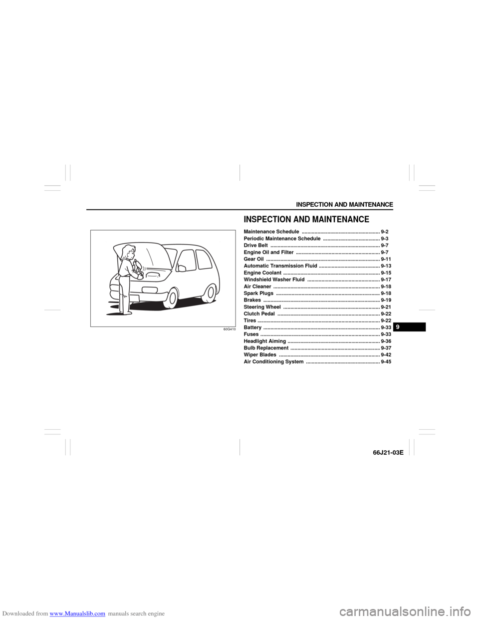 SUZUKI GRAND VITARA 2007 3.G Owners Manual