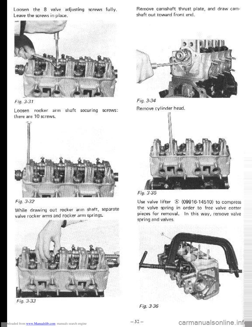 SUZUKI LJ80 1971 1.G Service Service Manual (295 Pages)