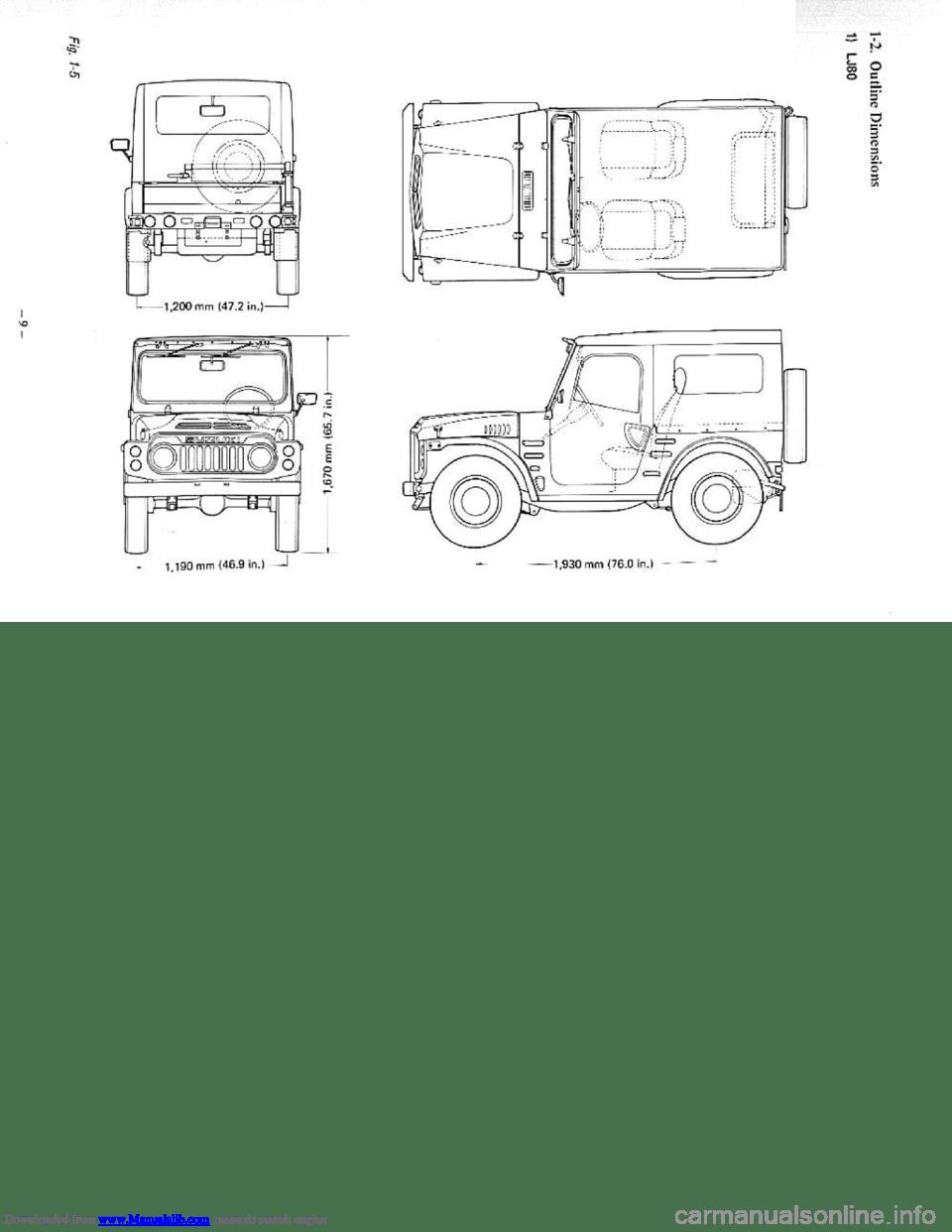 SUZUKI LJ80 1979 1.G Service Workshop Manual (295 Pages)