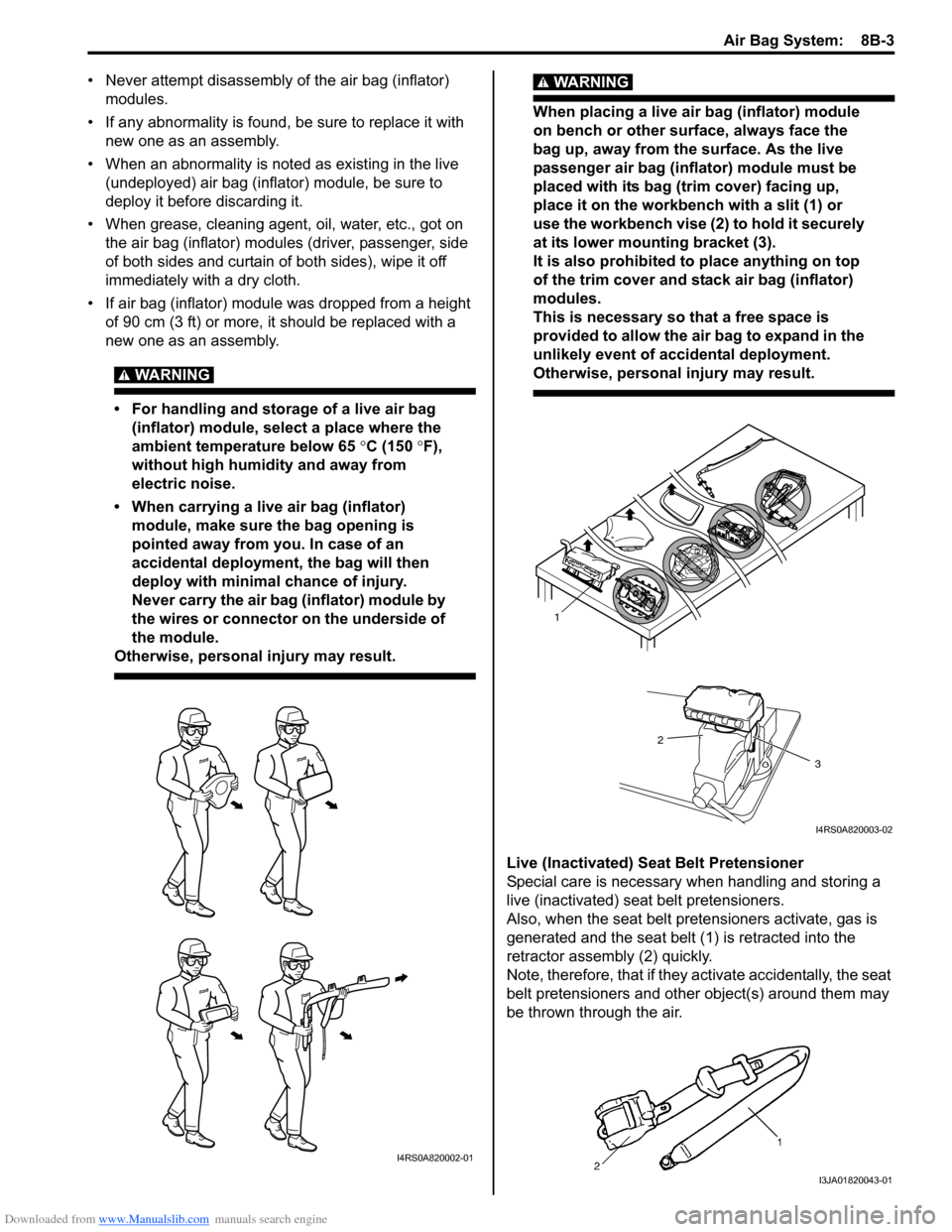 SUZUKI SWIFT 2006 2.G Service Workshop Manual