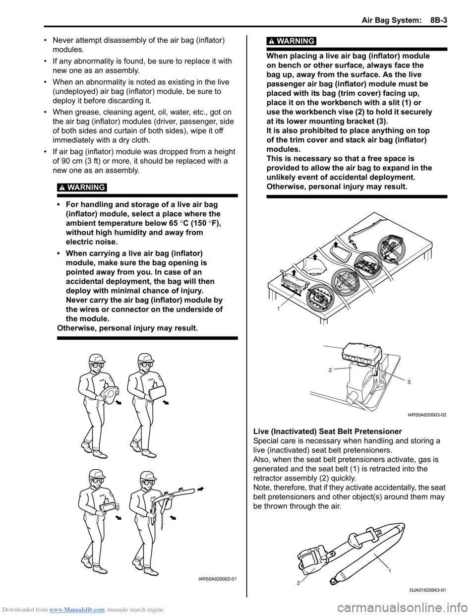 ... SUZUKI SWIFT 2006 2.G Service Workshop Manual ...
