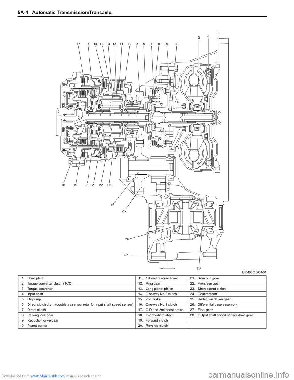 SUZUKI SWIFT 2008 2.G Service Workshop Manual