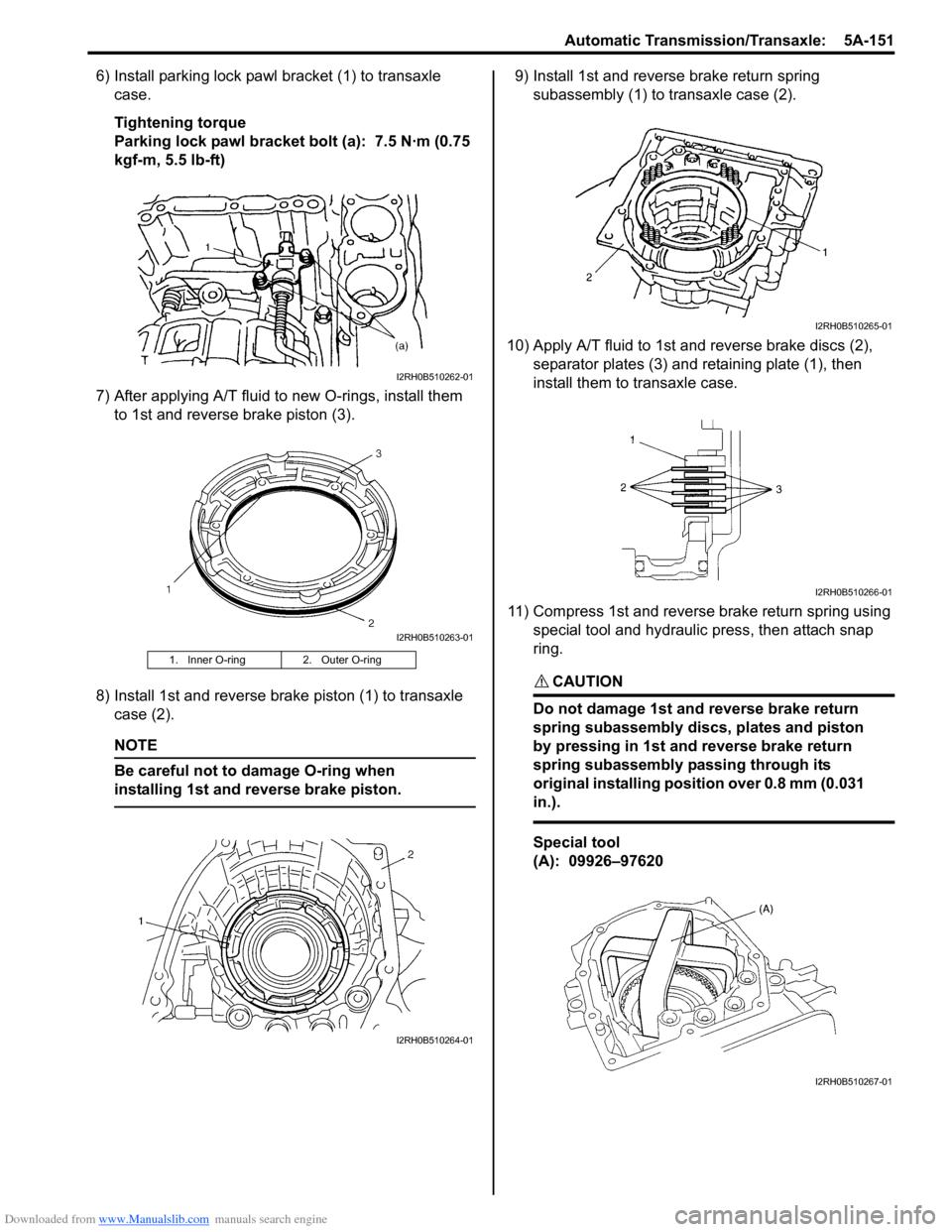 SUZUKI SWIFT 2006 2.G Service Workshop Manual (1496 Pages