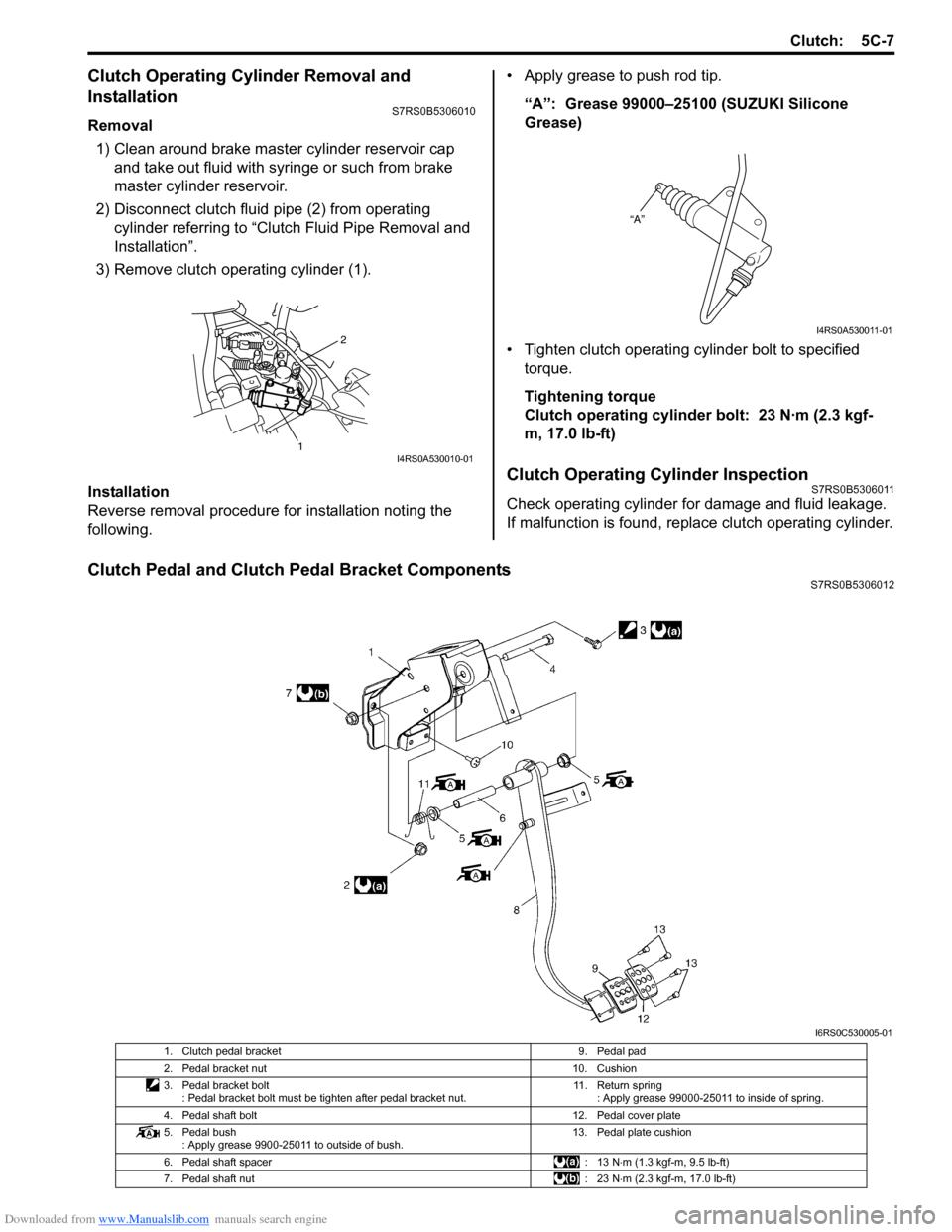 SUZUKI SWIFT 2007 2.G Service Workshop Manual