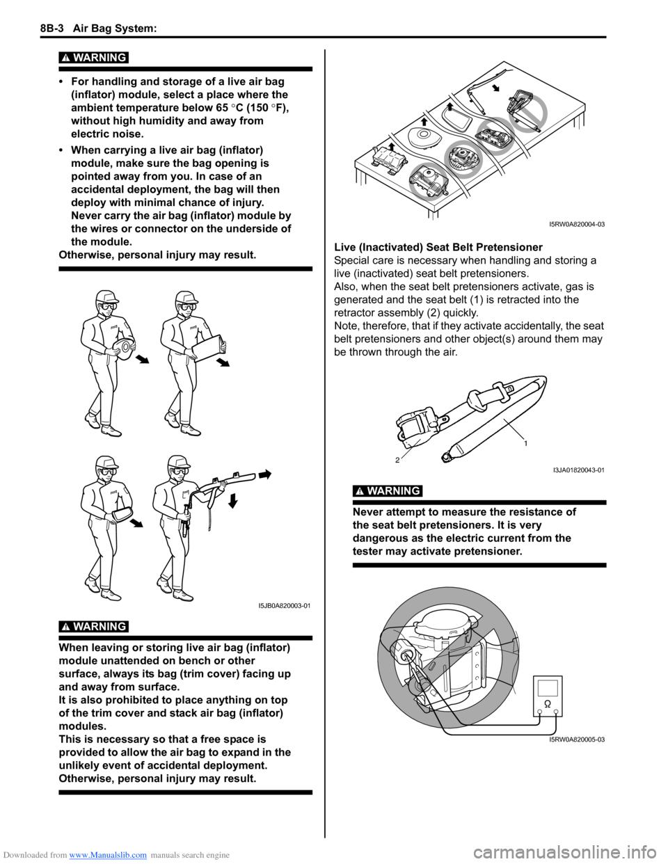 SUZUKI SX4 2006 1.G Service Workshop Manual
