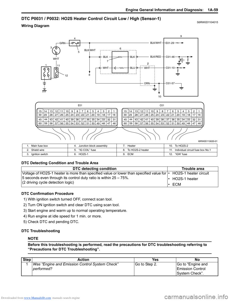 medium resolution of suzuki sx4 2006 1 g service workshop manual page 109