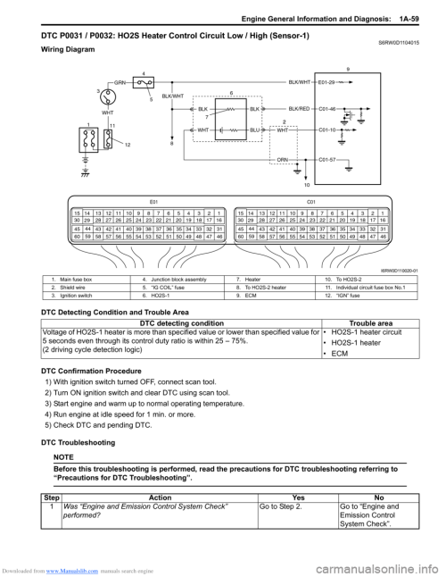small resolution of suzuki sx4 2006 1 g service workshop manual page 109