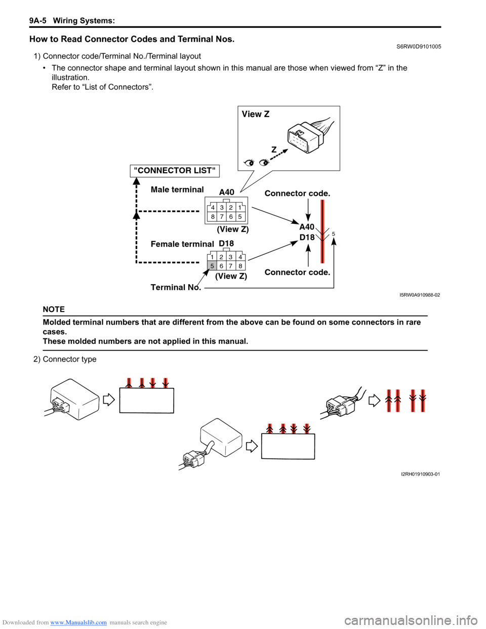 medium resolution of suzuki sx4 2006 1 g service workshop manual page 1172