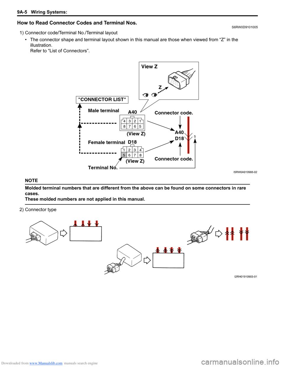 hight resolution of suzuki sx4 2006 1 g service workshop manual page 1172