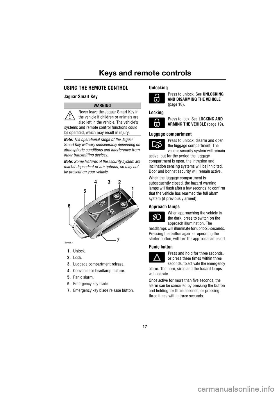 JAGUAR XF 2009 1.G Owners Manual