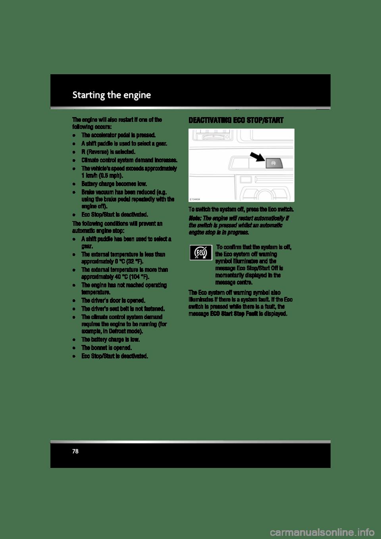 JAGUAR XF 2010 1.G Owners Manual