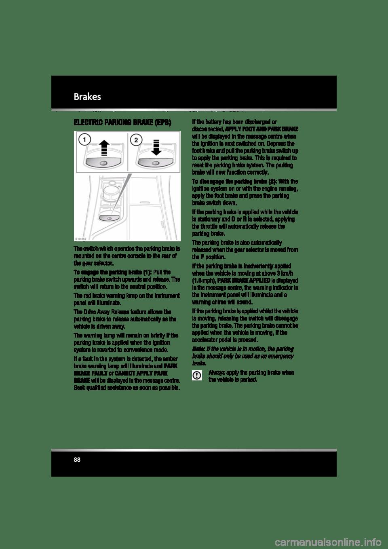JAGUAR XF 2010 1.G Manual Online (225 Pages)