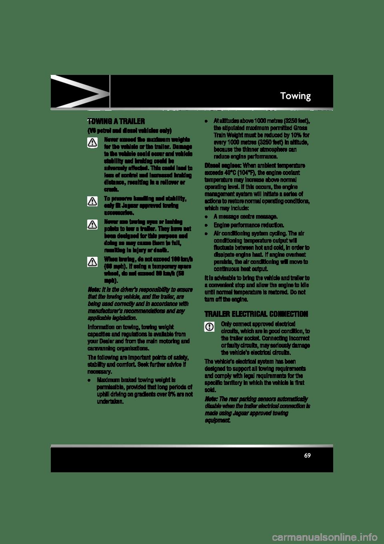 JAGUAR XF 2011 1.G Repair Manual (225 Pages)