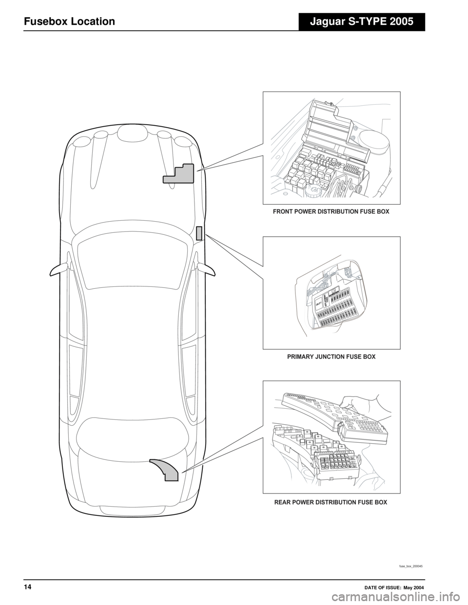 JAGUAR S TYPE 2005 1.G Electrical Manual