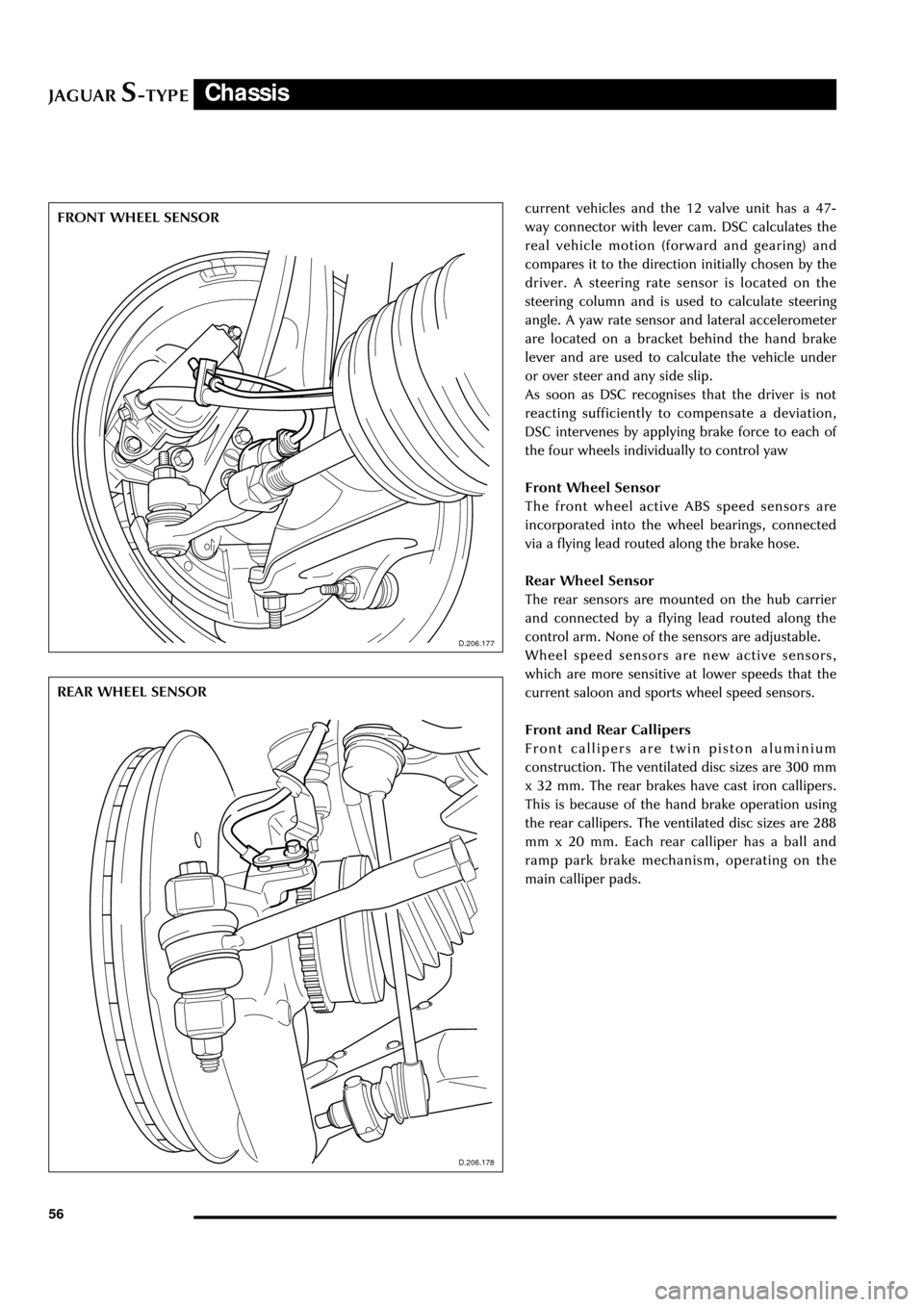 JAGUAR S TYPE 2005 1.G Technical Guide Update (133 Pages)
