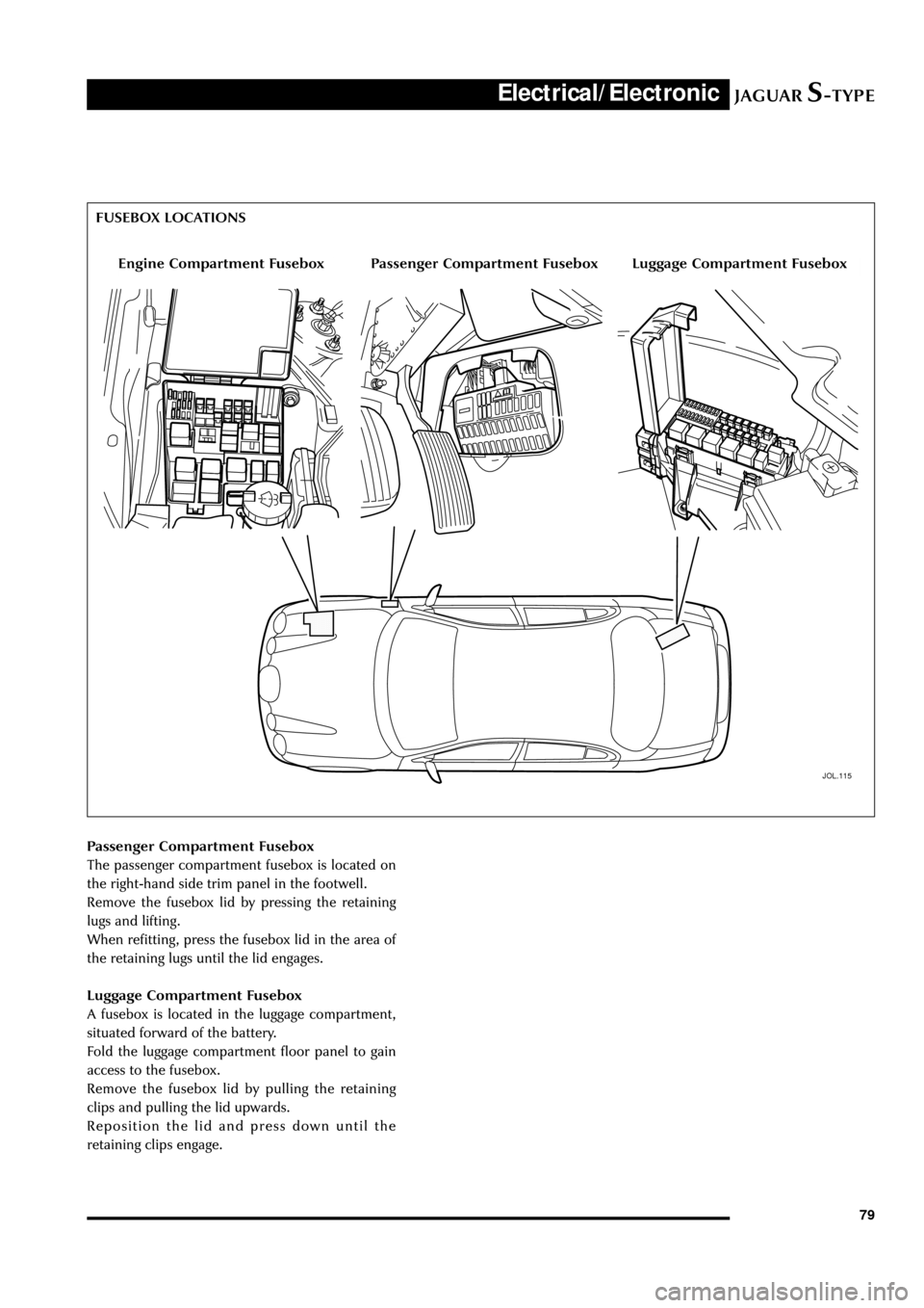 medium resolution of 05 jaguar s type fuse box diagram passenger