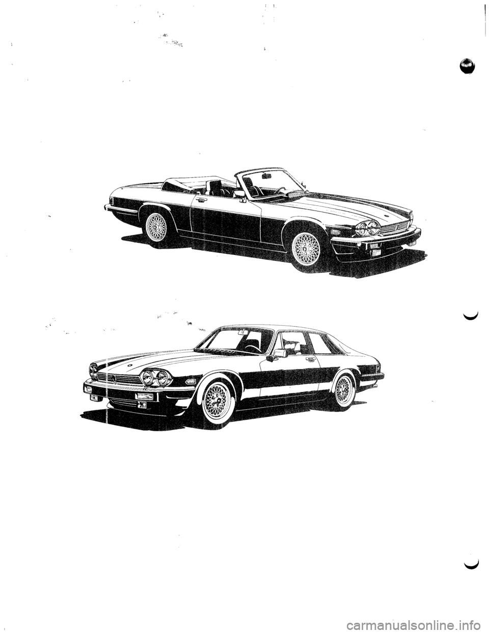 JAGUAR XJS 1990 1.G Update Manual