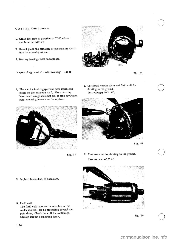 PORSCHE 911 1967 1.G Electrical Workshop Manual
