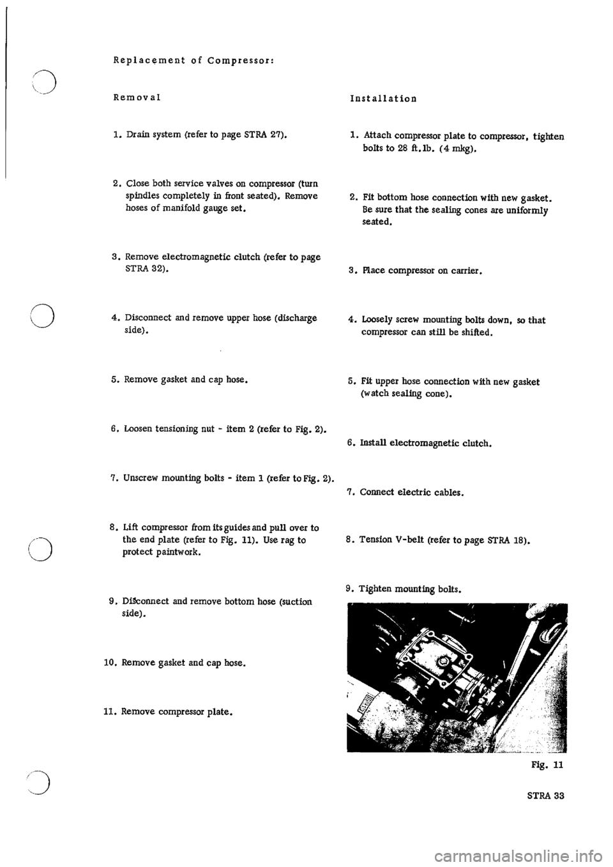 PORSCHE 911 1967 1.G Technical Instruction Manual PDF (92
