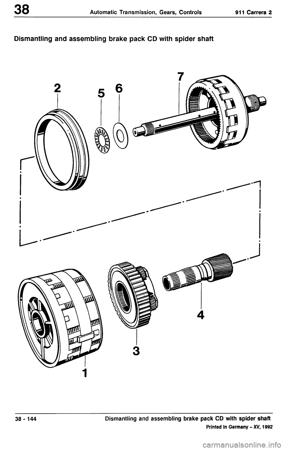 PORSCHE 964 1985 2.G Service Workshop Manual 3