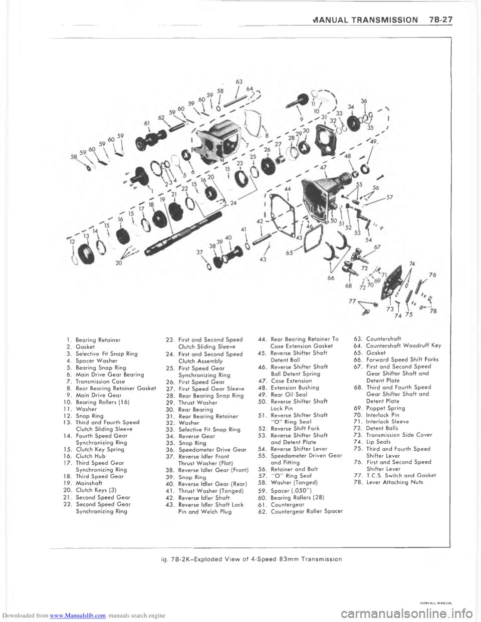 CHEVROLET IMPALA 1980 6.G Workshop Manual