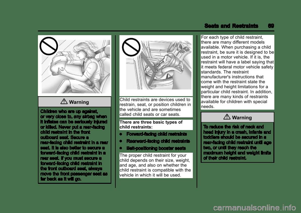 CHEVROLET EXPRESS CARGO VAN 2017 1.G Owners Manual