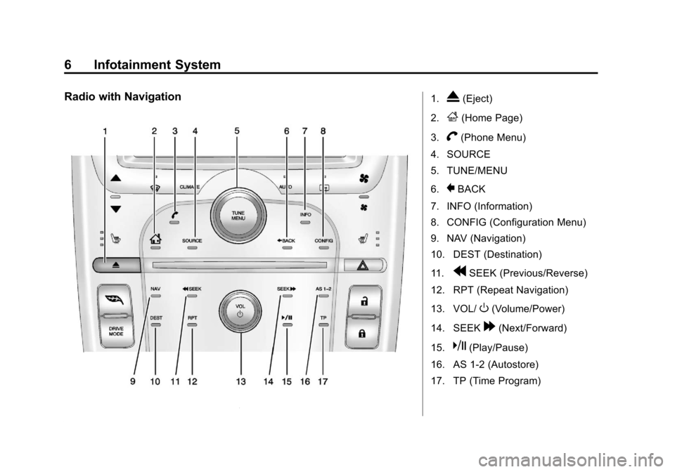 CHEVROLET VOLT 2013 1.G Infotainment Manual
