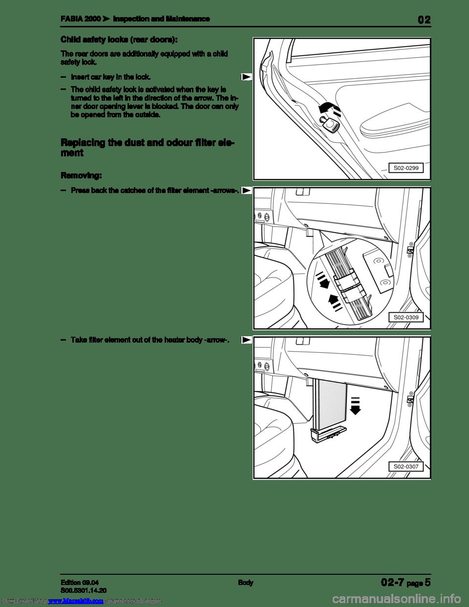 hight resolution of skoda fabia 2000 1 g 6y workshop manual page 73