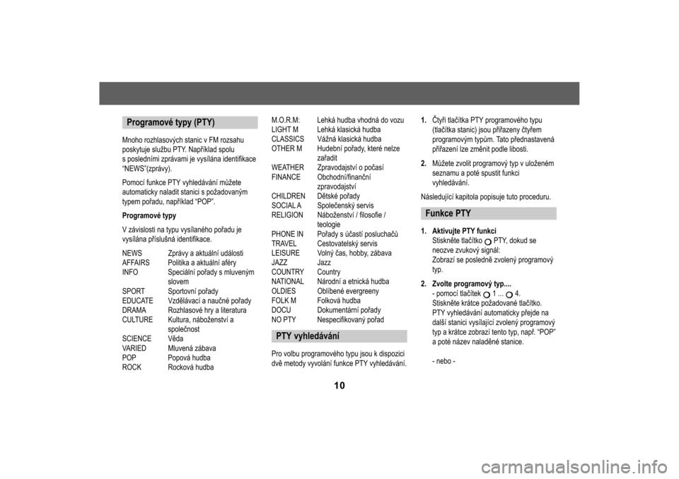SKODA FELICIA 2000 1.G / (6U1) MS201 Car Radio Manual