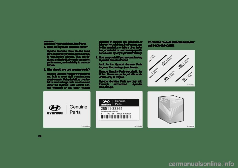 Hyundai Azera 2009 Owner's Manual (335 Pages)