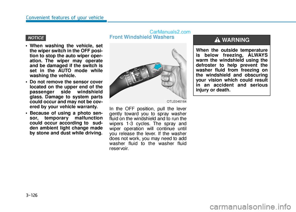 Hyundai Santa Fe 2020 Owner's Manual (557 Pages), Page 220