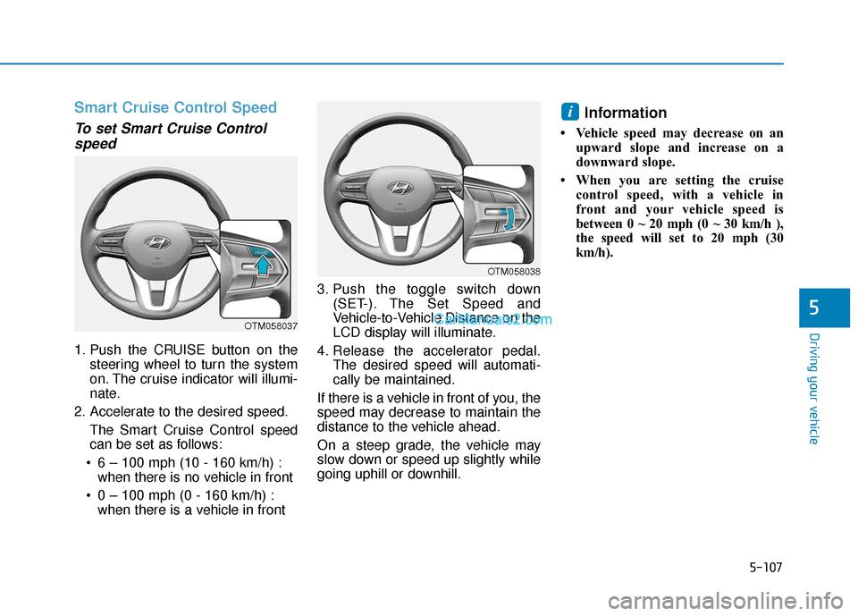 Hyundai Santa Fe 2020 Owner's Manual (557 Pages), Page 390