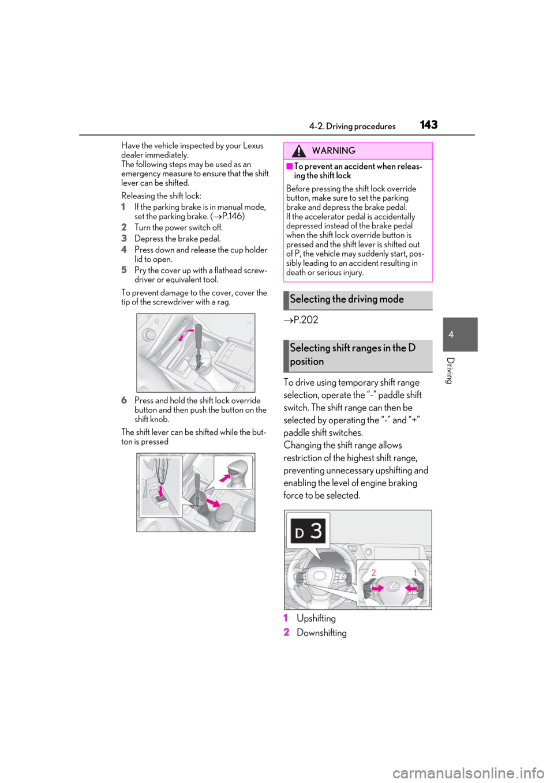 eps Lexus ES300h 2019 Owner's Manual (OM33D00U) (456 Pages)