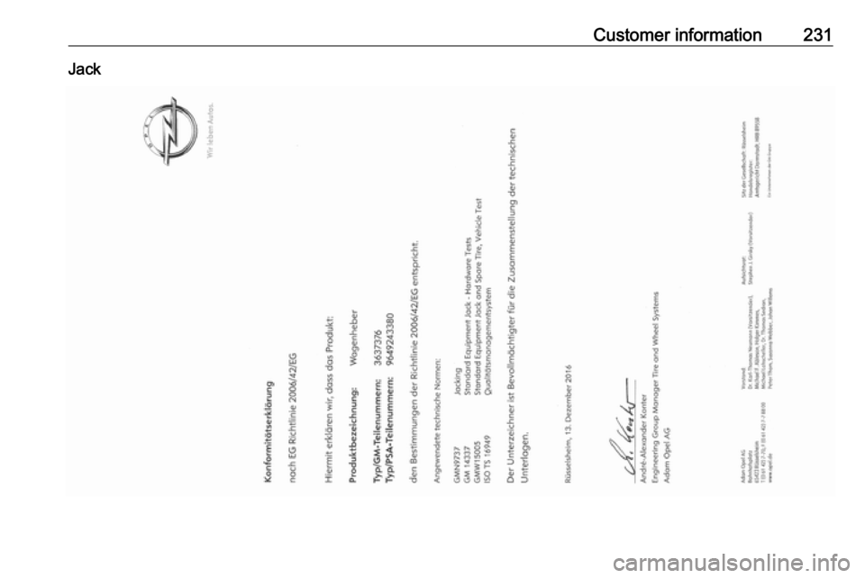 VAUXHALL CROSSLAND X 2017.75 Owner's Manual (245 Pages