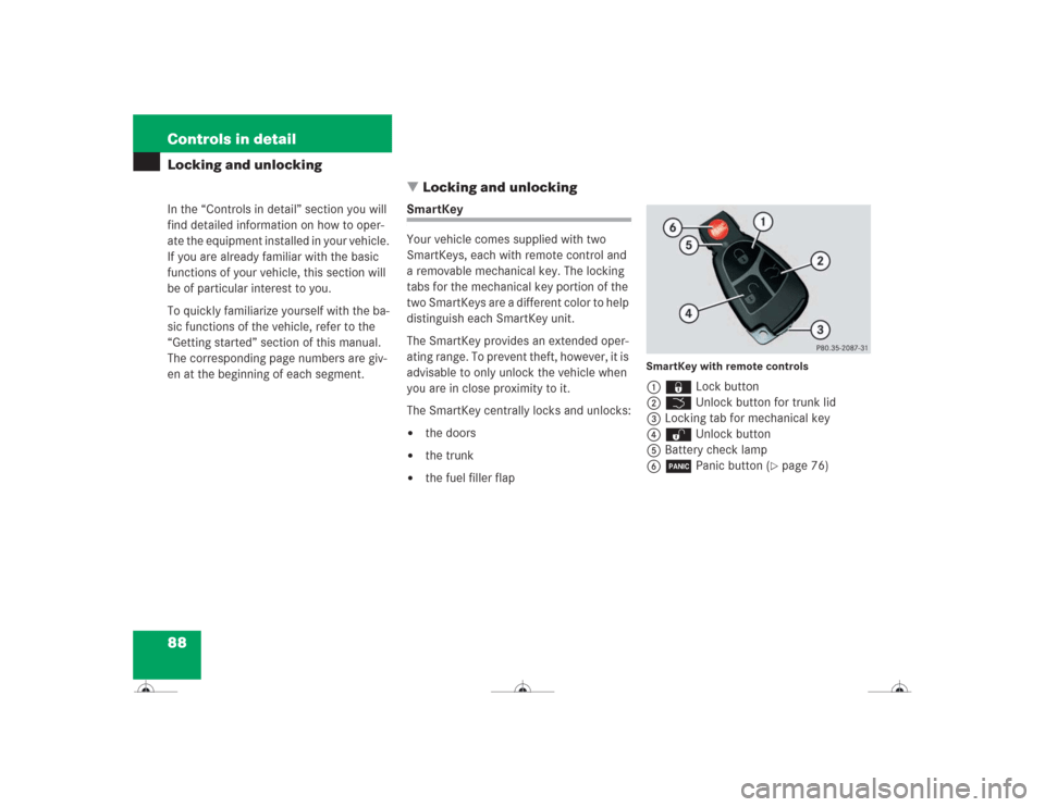 battery MERCEDES-BENZ CL500 2004 C215 Owner's Manual (418