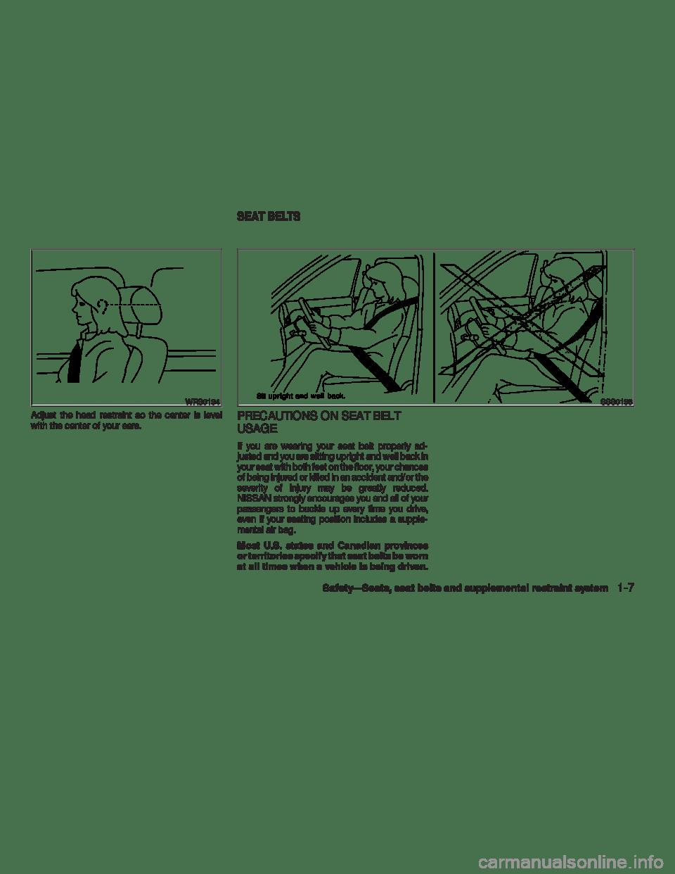 NISSAN VERSA HATCHBACK 2009 1.G Owner's Manual (305 Pages)