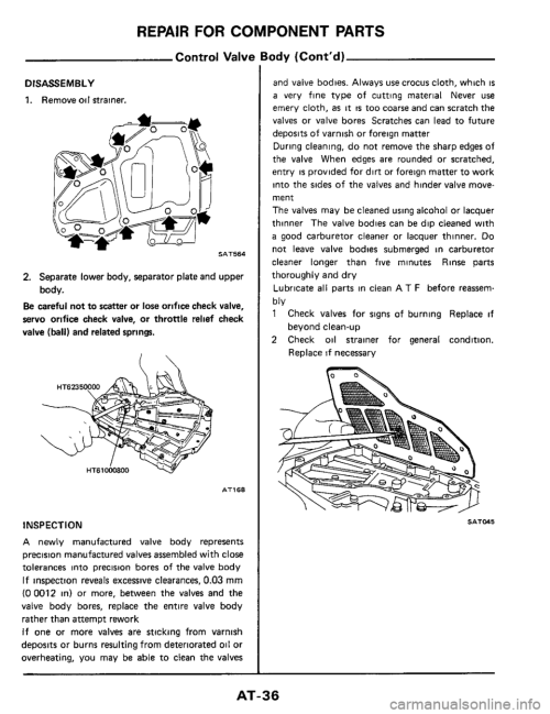 small resolution of nissan 300zx 1984 z31 automatic transmission workshop manual page 36