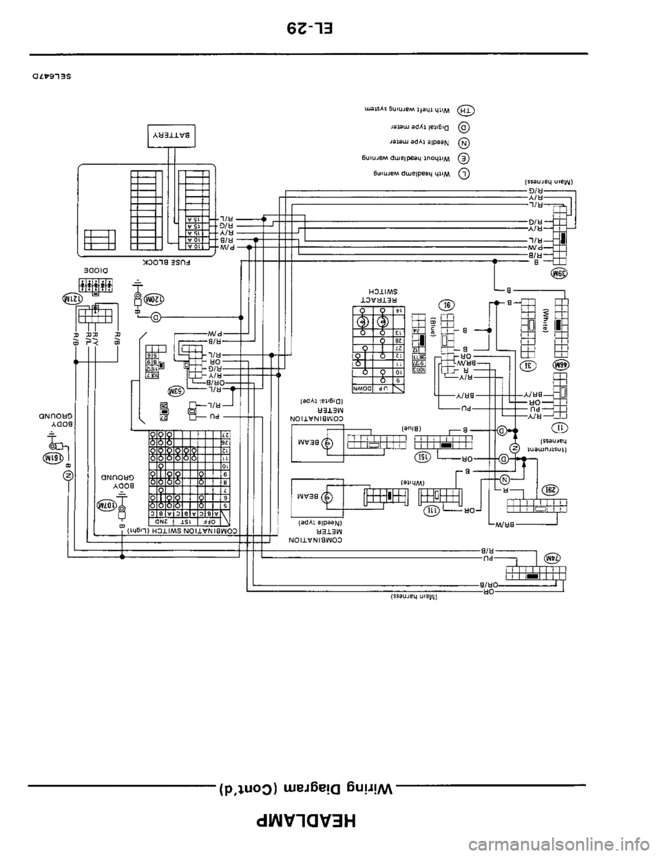 Z31 alternator wiring diagram