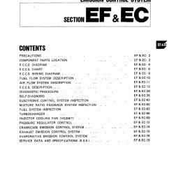 nissan 300zx 1984 z31 engine fuel and emission control system workshop manual [ 960 x 1244 Pixel ]